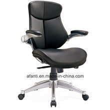 Modern Adjustable Arms Office Leather Manager Chair (RFT-B37-1)