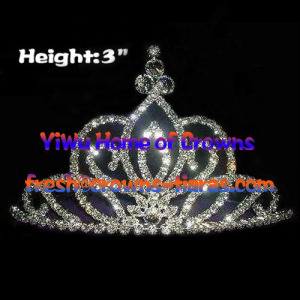 Rhinestone Pageant Crowns and Tiaras