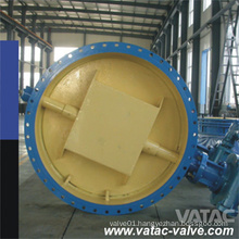 Vatac Ss CF3/304L Butterfly Valve Wafer Double Flanged CF3m/316L Valve
