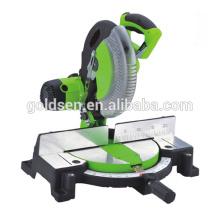 "10"" 1800W Power Aluminium Wood Cutting Table Saw Machine Electric Belt-drive 254mm Miter Saw GW8023B"