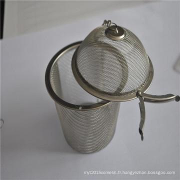 Boule de thé bon marché et bon marché de thé d'infuseur de thé d'acier inoxydable