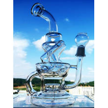 Venta al por mayor última Recycler Fab Rigs Glass Pipe