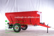 agricultural trailed fertilizer spreader DFC