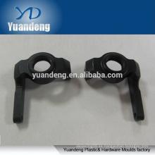 Anodizado en negro 6063 cnc de aluminio piezas mecanizadas