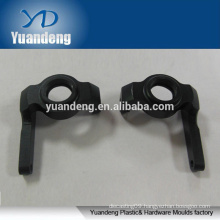 custom made black anodized 6063 aluminum cnc machined parts