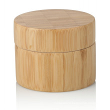 15/20/25/30/50/100g bamboo jar cosmetic package bamboo jar with bamboo lid