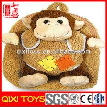 plush baby monkey backpack plush backpack for kid