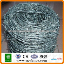 China Manufacture of 16 Gauge Barbed Wire