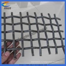 Хорошее качество гофрированные проволочной сетки для горнорудной и угольной