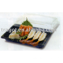 Sushi Container, Plastic Container, Food Tray, Sushi Tray