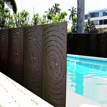 Metal Fence Screen Panels