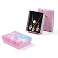 Boîte à bijoux Collier Bracelet Anneaux Emballage en carton