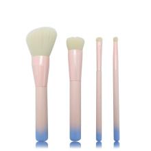 Ensemble de pinceaux de maquillage manche bois ombre 4pc