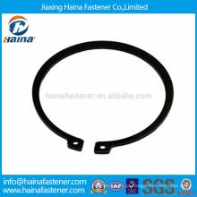 DIN471 DIN472 anéis de retenção externos de alta resistência, anéis de retenção para furos
