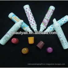 Tubos de lápiz labial, tubos cosméticos, tubos de plástico