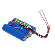 18650 lithium ion battery cell for flashlight battery