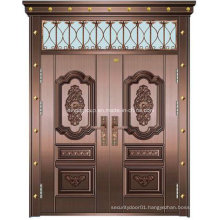 South Africa Hot Sale Security Steel Copper Glass Door (W-GB-05)