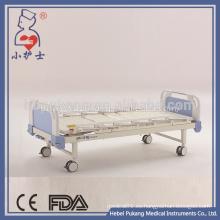 Epoxy cubrió 2 camas de hospital médico de la manivela para la venta