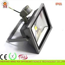 CE / RoHS / SAA / preuve d'eau / 20W LED lumière d'inondation avec capteur de mouvement