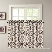 Customized Kitchen Blackout Rod Pocket Window Curtain