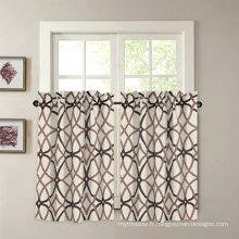 Rideau de fenêtre avec passe-tringle occultant pour cuisine sur mesure
