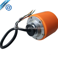 70mm Low Noise Brushless Gearless Skating Wheel Hub Motor Small