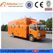 Factory direct sale truck diesel generator for power station with CE,ISO