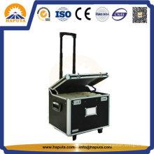 Grande caso, caixa do trole de alumínio para armazenamento e ferramenta (HW-2001)