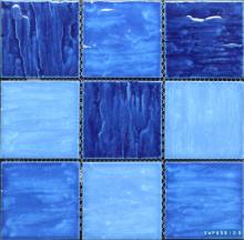 95 x 95 색상 혼합 기체 표면 도자기 모자이크