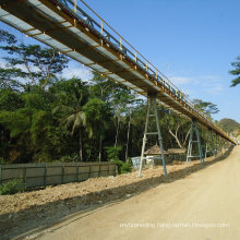 Ske Continuous Overland Tubular/ Pipe Conveyor System Sale and Design Price