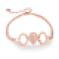 Women′s Rose Gold Plated Vintage Bracelet