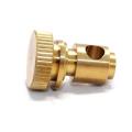 Usinagem CNC de peças de torneamento de metal OEM