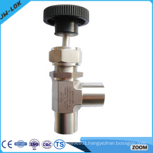 316Stainless steel two-way angle general purpose needle valve