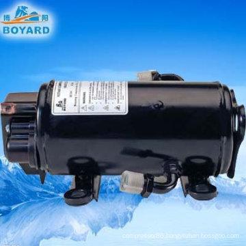 Conditioned air 12v/24volt power a/c kompressor for truck cabin sleeper mining machine grab excavator