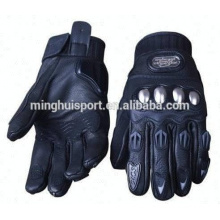 Leather High Quality Motorcycle Cycling Racing Biker Gloves Motocross Protection Gloves