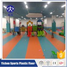 Shijiazhuang YICHEN Anti-slip Colorful Kindergarten Vinyl Floor