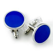 Hard soft enamel metal cufflinks for men