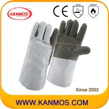 Кованая кожа Кожа Промышленные защитные перчатки для сварки (11129)