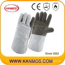 Cowhide Furniture Leather Industrial Safety Welding Work Gloves (11129)
