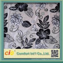 Tissu de velours de haute qualité de la Chine