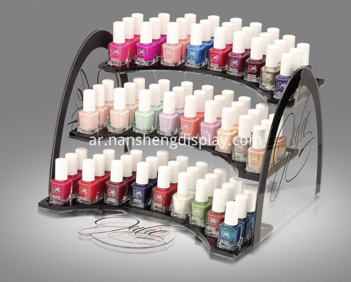 Acrylic Cosmetic Display for Nail Polish
