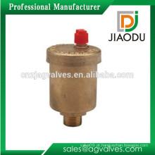 Livre alta qualidade de amostra 1 2 0,5 1/2 6 polegadas de alta pressão forjada CW614N cobre laiton e latão válvula de ventilação automática de ar