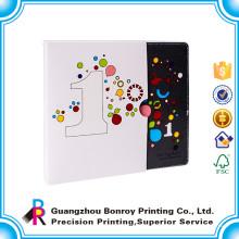 Caja de la manga del libro de la impresión colorida de encargo de alta calidad de la fábrica de Guangzhou