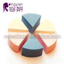 Beauty Round Six Latex Sponge