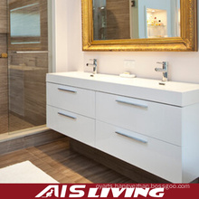 Laquer Matt Finish Bathroom Cabinets for House (AIS-B020)