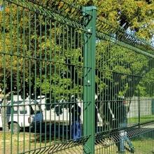 Panel de valla de malla de alambre soldado curvado
