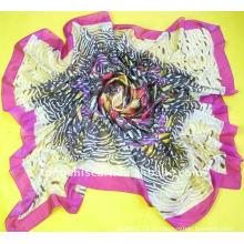 2013 новый цветок печатных квадратный шарф