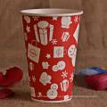 Taza de papel impresa de la categoría alimenticia para la fiesta