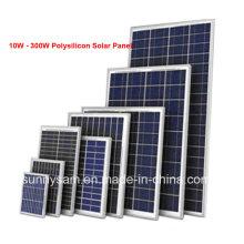 Panel solar polivinílico de alta eficiencia 70W con alta calidad