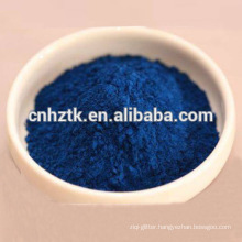 Pure indigo blue powder for chemicals